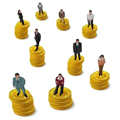 people on money