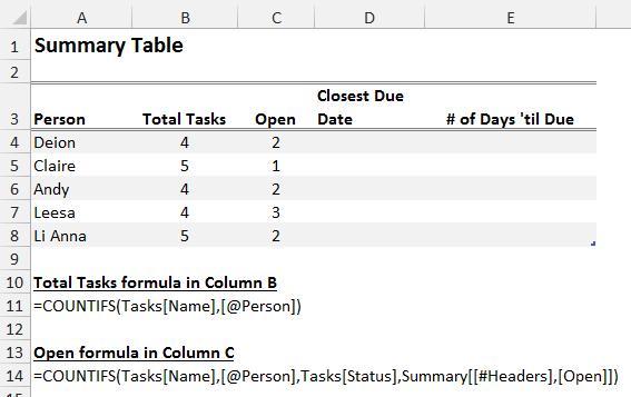 Array formula example - COUNTIFS1