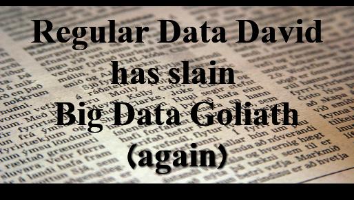 regular data david